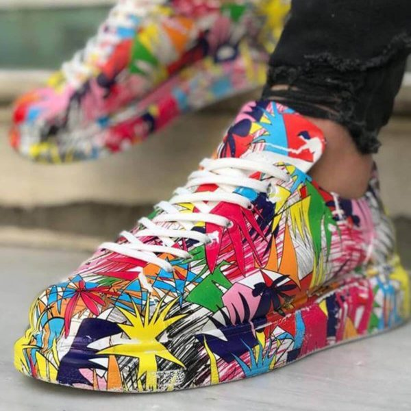 Chekich Red Bomb Sneakers