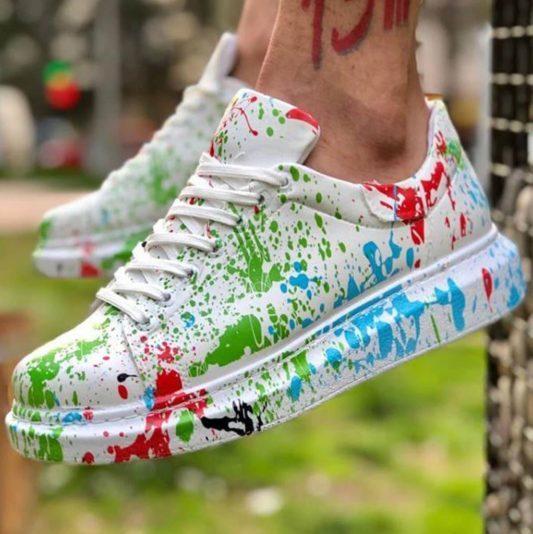 Chekich Green Drop Men Sneakers