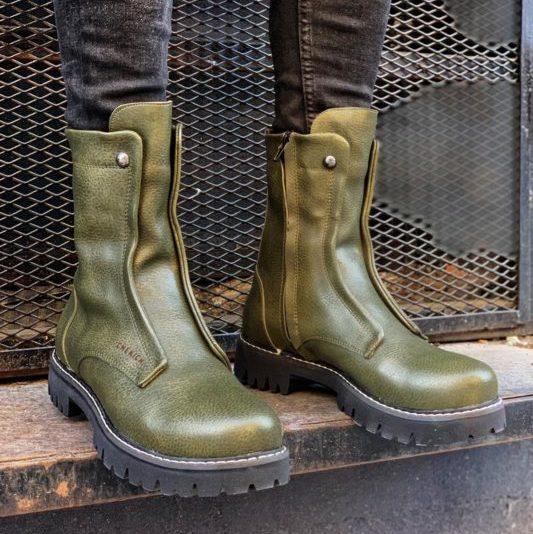 Chekich CH027 Green Long Boot