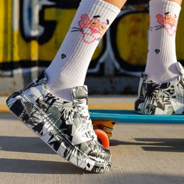 Chekich Black Bomb Sneakers