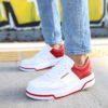 Chekich Red & White Sneakers (CH075)