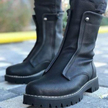 Chekich CH027 Black Long Boot