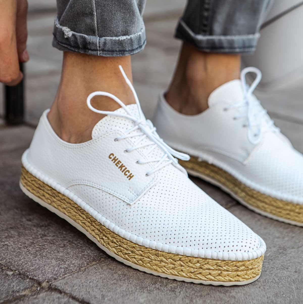 Chekich White Angel Shoes